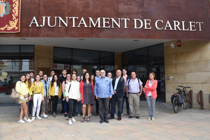 La Universitat Politècnica de València elegix Carlet com a poble pilot per a fer un estudi de les zones verdes