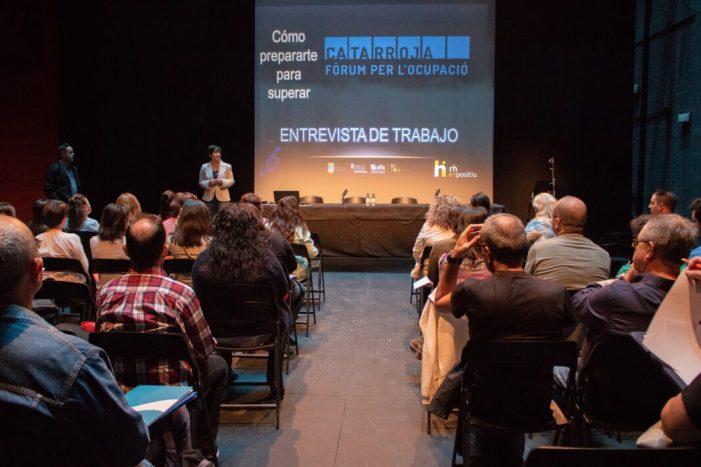 El Fòrum d'Ocupació de Catarroja tanca amb 400 entrevistes de treball i 12 persones seleccionades