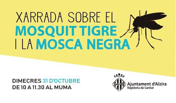 Sanitat organitza una xarrada sobre la mosca negra i el mosquit tigre