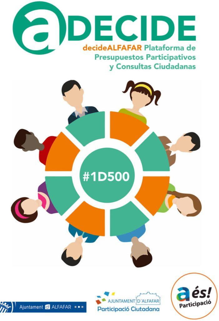 """""""Decide Alfafar"""",la nova plataforma de participació ciutadana"""