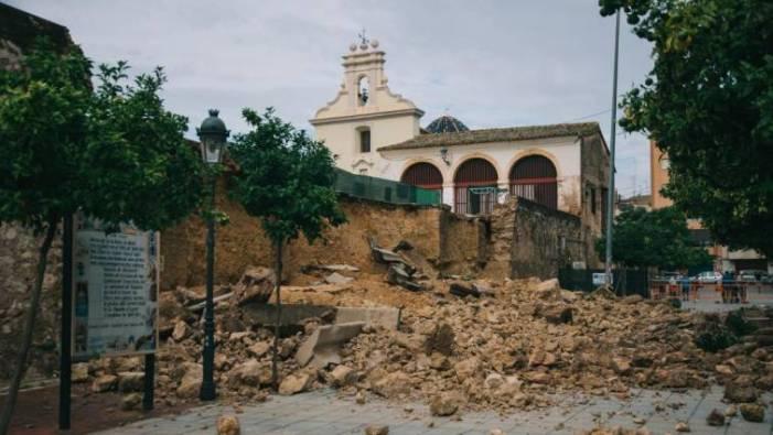 Burjassot: Aprovada la Direcció Tècnica de la reconstrucció del mur De les Sitges, així com l'estudi geotècnic i el topogràfic