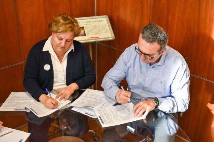 Nou conveni amb la Comunitat de Regantes per al manteniment de l'entorn rural d'Alfafar