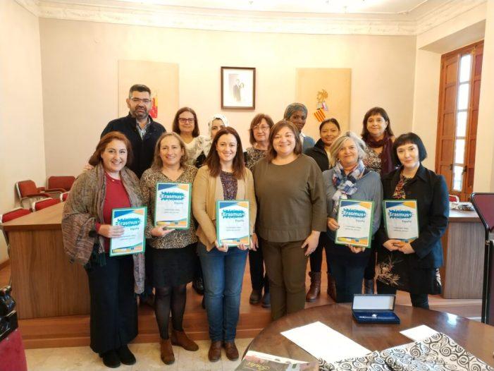 Recepció de les Delegacions del Projecte Erasmus+ KA229 en l'Ajuntament d'Alcàsser