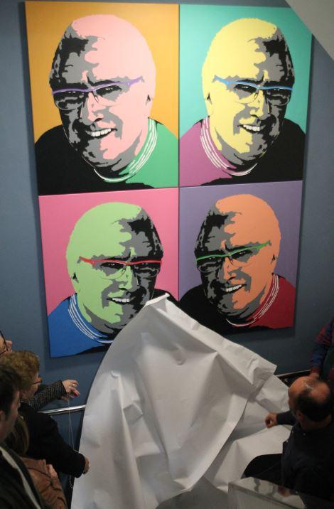L'Escola d'Art Escultor Beltrán de Sueca homenatja a Conrado Meseguer en l'aniversari del seu naixement