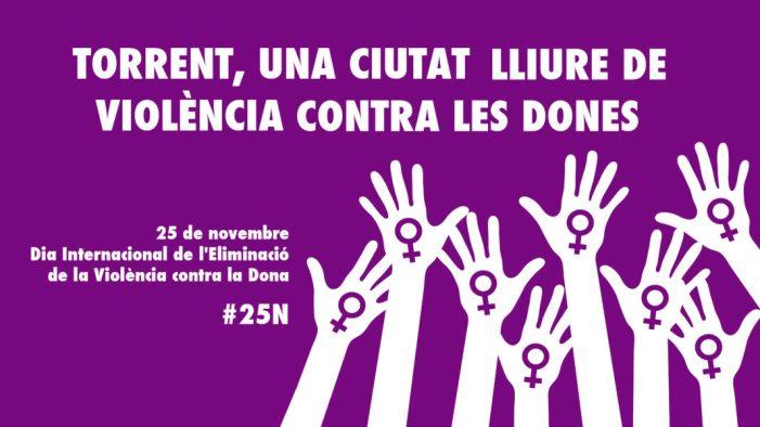 Torrent celebra la XI Setmana Contra la Violència de Gènere amb un programa carregat d'activitats