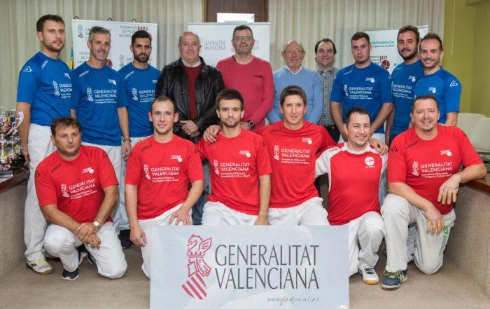 Almussafes acull les seues terceres finals del President de la Generalitat de Frontó Individual