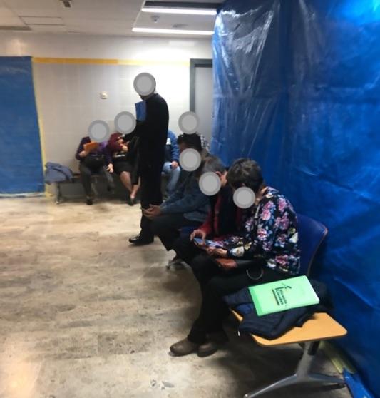 Eliminen consultes per a posar llits extres pel col·lapse d'Urgències en la Ribera