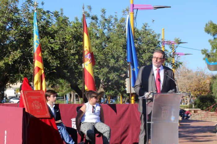 Torrent celebra els 40 anys de la Constitució amb un homenatge a les víctimes del terrorisme