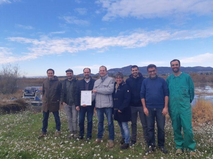 Medi Ambient i Global Nature col·laboren en la conservació de l'aiguamoll de la Marjal dels Moros