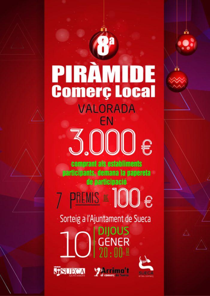 8a edició de la Piràmide del Comerç Local a Sueca