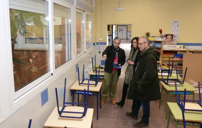 Inversió de més de 150.000 euros per a millorar l'eficiència energètica del CEIP L'Horta de Paiporta
