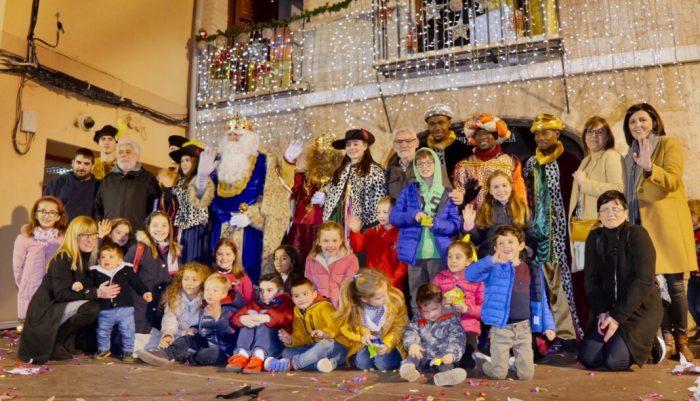 La màgia dels Reis Mags inunda els carrers d'Alboraia
