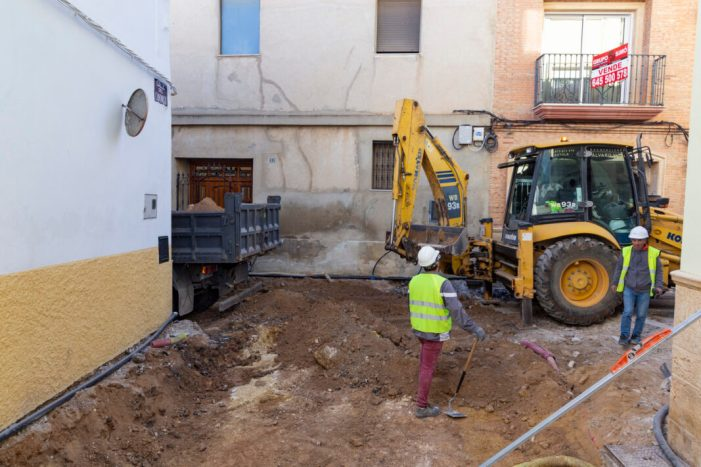 Comencen les obres de reurbanització del carrer Ferrer i Plaça Abadia de Picassent