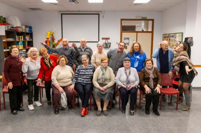Els Majors de Picassent participen d'un taller de teatre