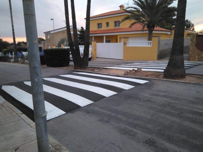 L'Ajuntament de Benifaió finalitza els treballs d'asfaltat de vials de la Urbanització Pla dels Clotxes amb una inversió de 47.576€