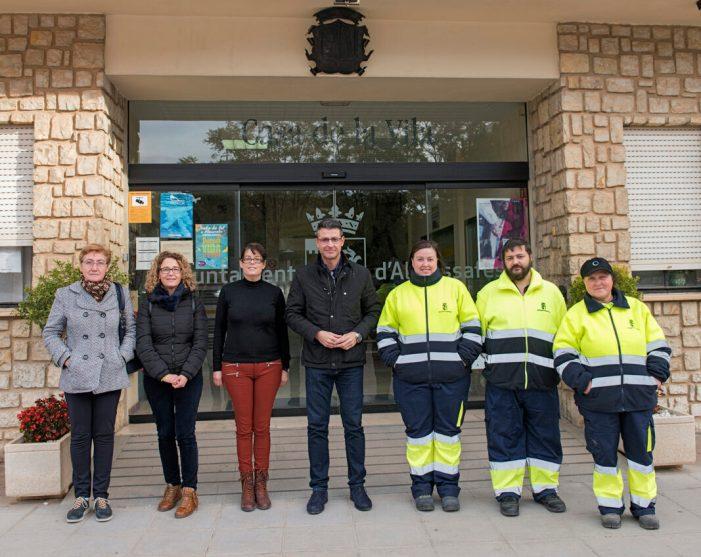 Els programes Emcord i Emcorp permeten la contractació de sis persones a Almussafes