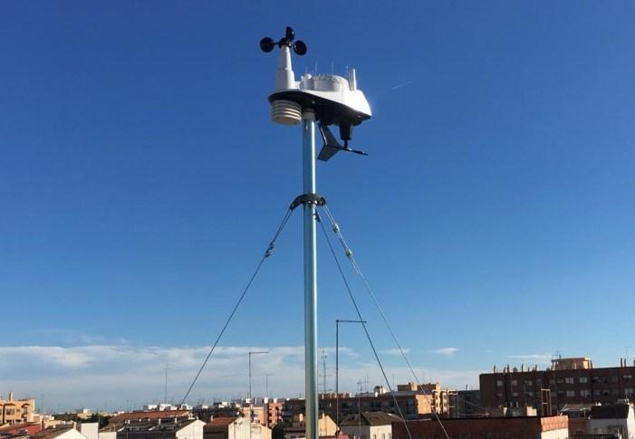 Xirivella ja disposa d'estació meteorològica pròpia