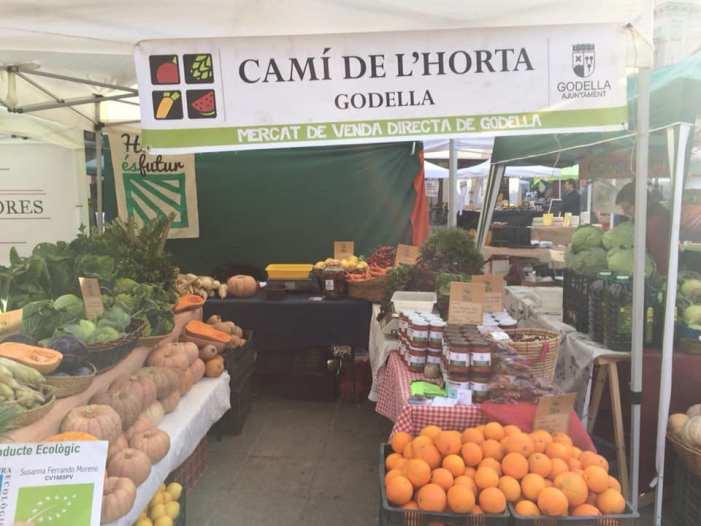 Godella torna a exposar un any més els seus productes al mercat 'De l'Horta a la plaça'