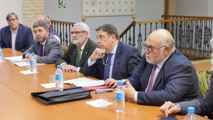 El Ministre d'Agricultura visita Alboraia
