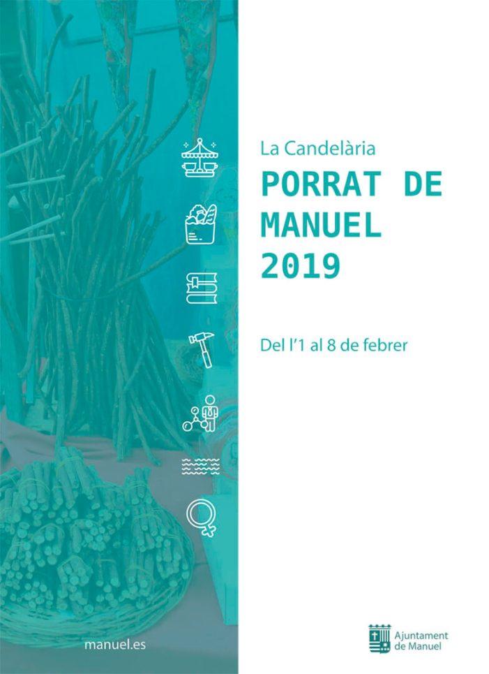Manuel acull una nova edició del porrat de la Candelària amb més diversitat d'espais