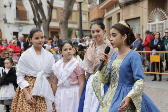 Torrent celebra el tradicional Cant de l'Estoreta