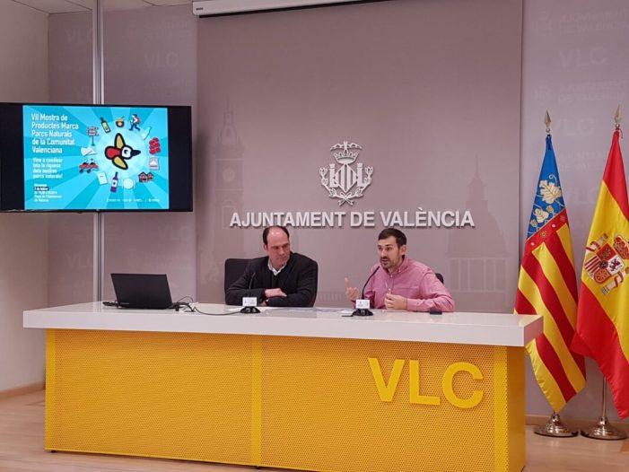 La plaça de l'Ajuntament de València acull el diumenge la VII Mostra de la Marca Parcs Naturals