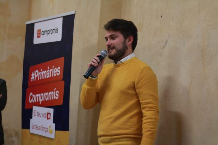 Més de mig centenar de persones assisteixen a la presentació de la candidatura de Ferran Barberà a les primàries de Compromís per a les Corts valencianes