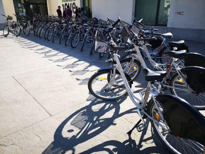Xirivella estrena el nou servei de bicicleta pública