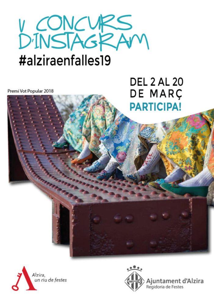 V Concurs d'Instagram de Falles, del 2 al 20 de març