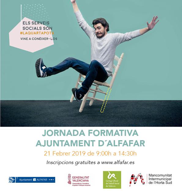 Alfafar organitza una jornada formativa sobre el nou model de Serveis Socials