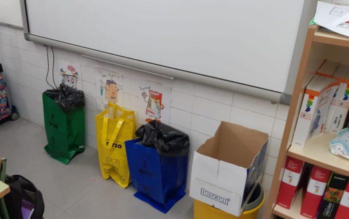 L'Ajuntament d'Almussafes aposta pel reciclatge en els centres educatius