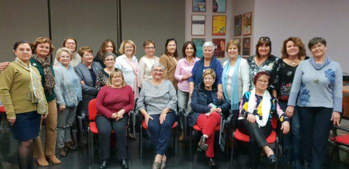 Les Mestresses de Casa Tyrius de la Ribera es reuneixen a Almussafes