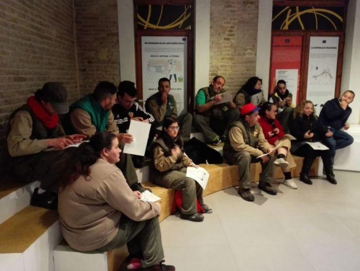 L'alumnat del TM de Jardineria de diversitat funcional  de Picassent visita l'Observatori del canvi climàtic de València