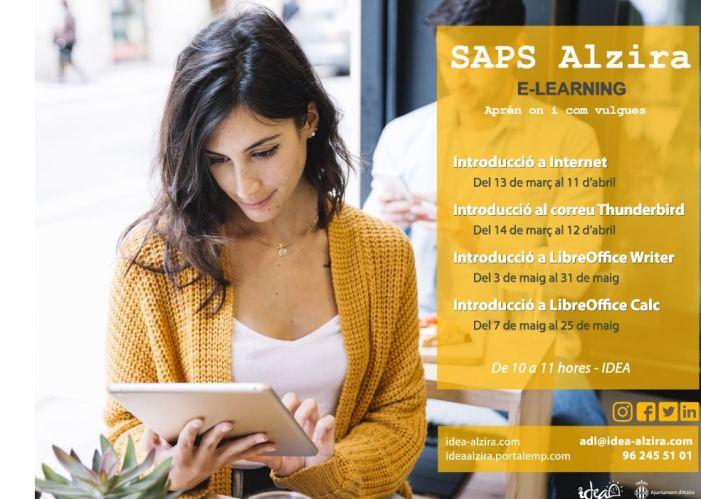 IDEA obri el termini d'inscripció per als cursos d'iniciació informàtica del CAMPUS SAPS (servei de formació gratuïta en línia)
