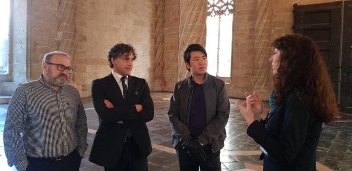 Lang Lang arriba a València i es converteix en un prescriptor de la destinació Comunitat Valenciana a la Xina