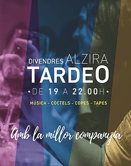 Alzira rellança la campanya del Tardeo