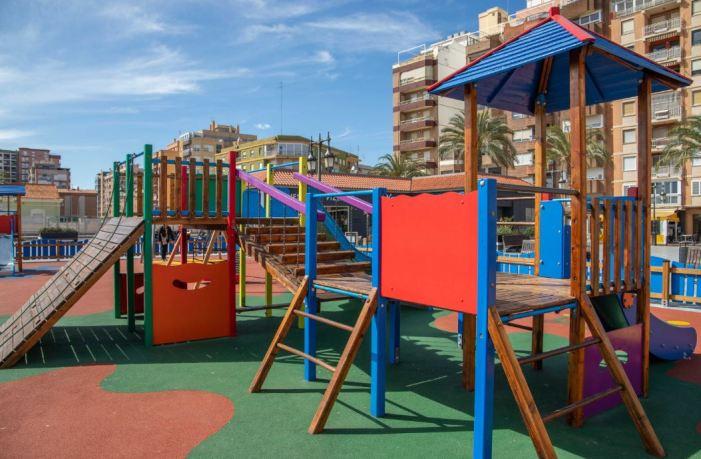 Cullera impulsa millores als parcs amb una inversió de 150.000 euros