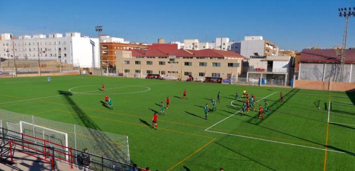 L'Alboraya UD estrena la nova gespa del camp de futbol Francisco Cardona Gil