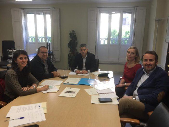 Reunió entre representants de la Mancomunitat de la Ribera Alta i de la Direcció General de Fons Europeus