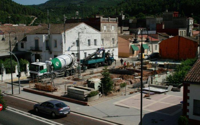 Culminen les obres del nou Ajuntament de la Barraca d'Aigües Vives