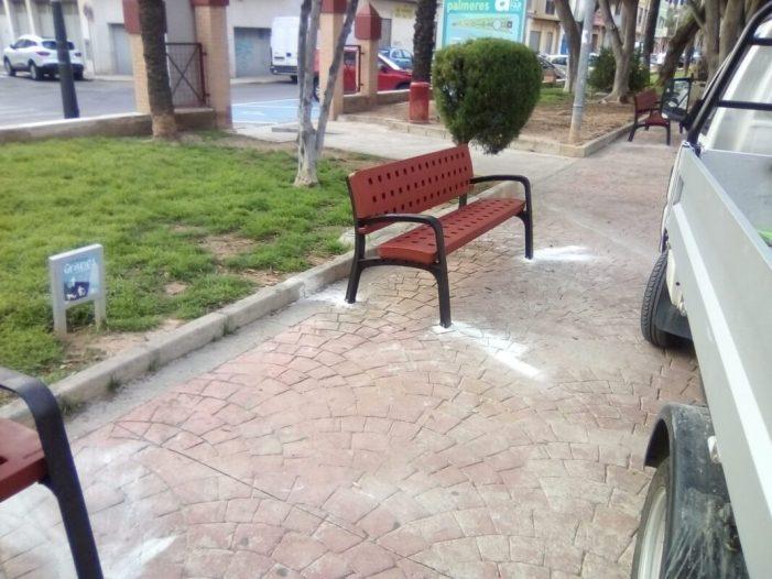 Millores en la via i en els espais públics d'Alfafar