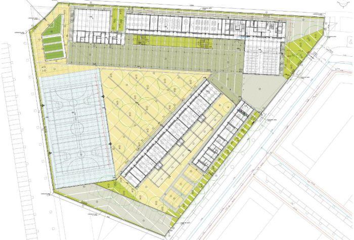 El ple municipal aprova el projecte bàsic i d'execució del col·legi número 4