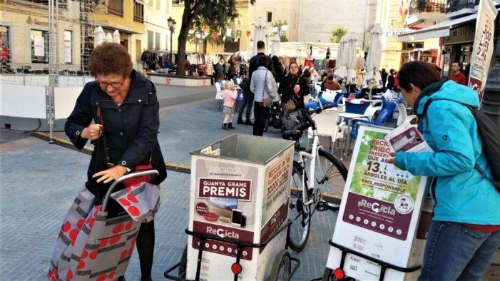 """Sueca se suma, un any més, a la campanya """"Recicla els teus aparells"""""""