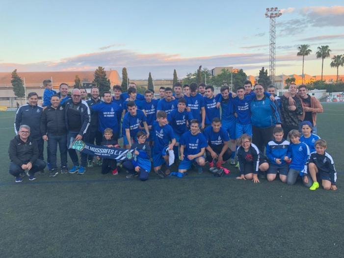 El Juvenil A de l'Almussafes C.F. ascendeix a Primera Regional