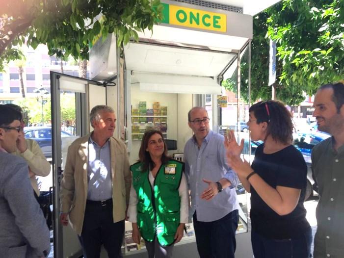 L'ONCE estrena a Alzira un nou model de quiosc ecològic, serveis de comerç electrònic i reintegrament de diners en efectiu Twyp