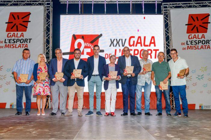 La Gala de l'Esport de Mislata premia als esportistes més destacats de la temporada