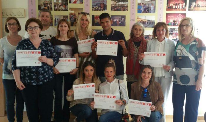 El programa 'Voluntariat pel valencià' concluye en Almussafes la edición de 2019