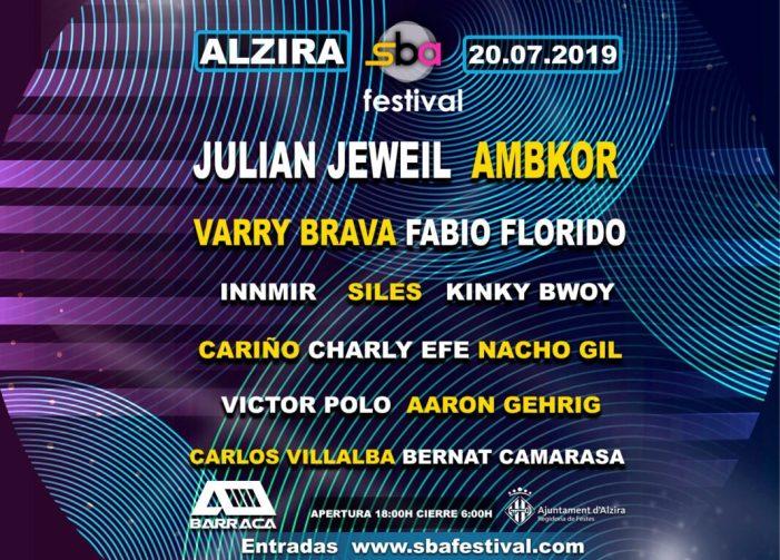 SBA FESTIVAL; dos escenaris, 14 artistes i 12 hores de música el dissabte 20 a Alzira
