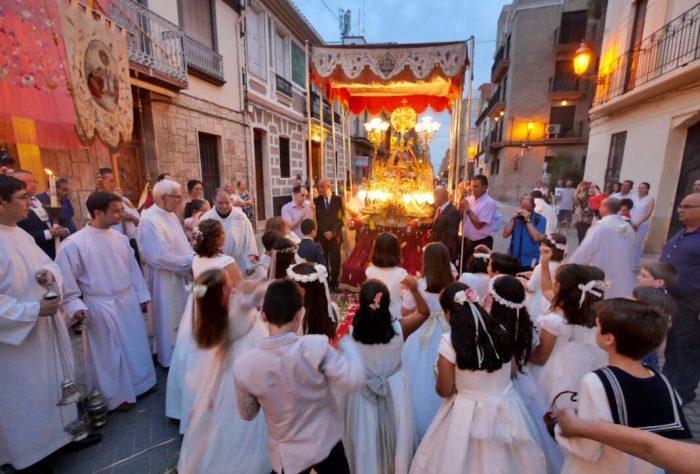 Alboraia celebra la festivitat del Corpus Christi