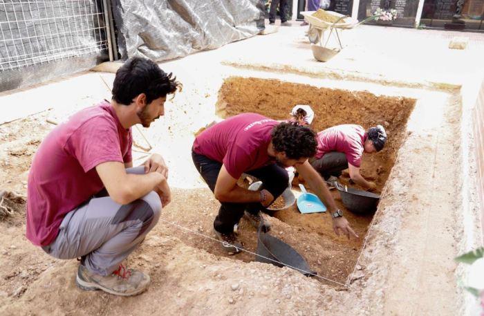 La Diputació ajuda a exhumar les restes de dues víctimes de la rereguarda republicana